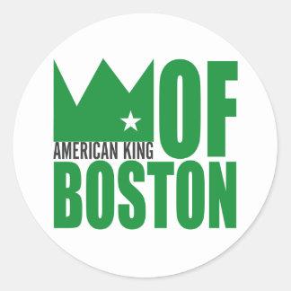 Autocollant de MIMS - roi américain de Boston