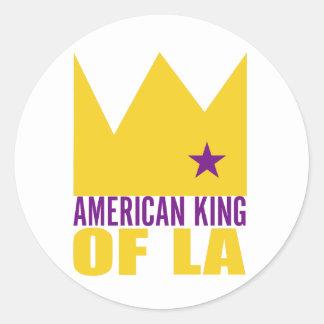 Autocollant de MIMS - roi américain de L.A.