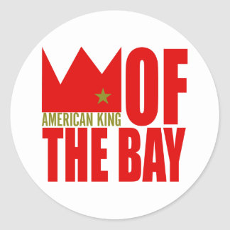 Autocollant de MIMS - roi américain de la baie