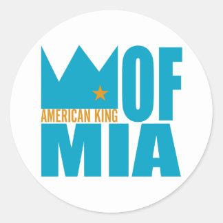 Autocollant de MIMS - roi américain de MIA