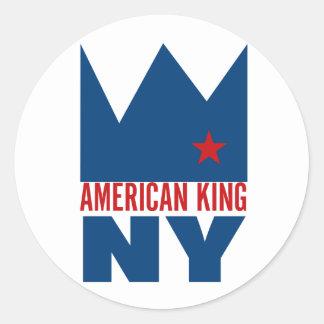 Autocollant de MIMS - roi américain de NY