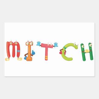 Autocollant de Mitch
