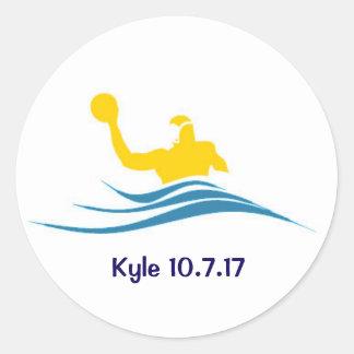 Autocollant de mitzvah de la barre de Kyle