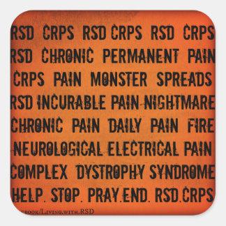 Autocollant de mot de RSD CRP
