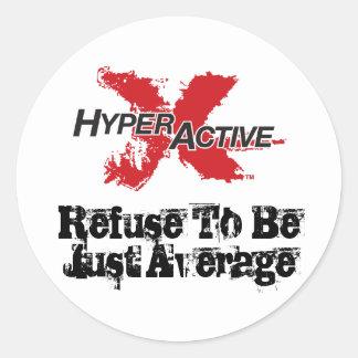Autocollant de motivation d'ExtraHyperActive