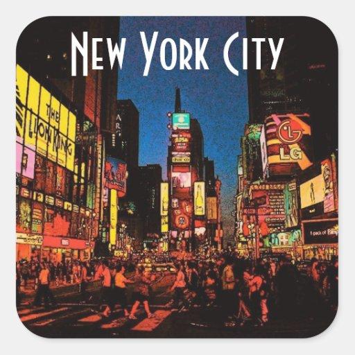 Autocollant de New York City