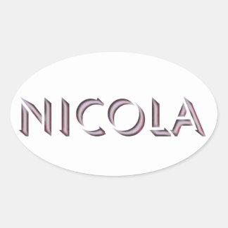Autocollant de Nicola