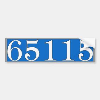 Autocollant de numéros de maison adhésif pour voiture