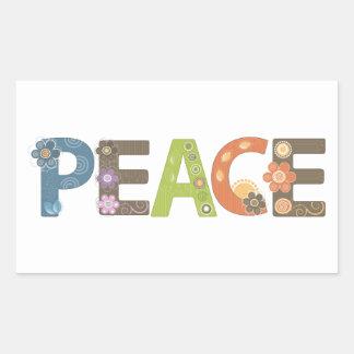 Autocollant de paix
