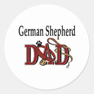 Autocollant de papa de berger allemand