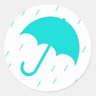 Autocollant de parapluie