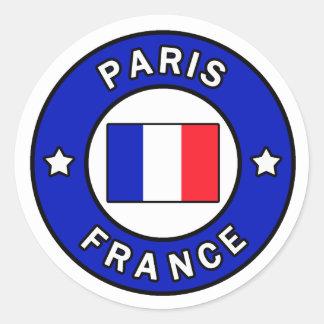 Autocollant de Paris France