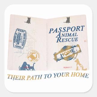 Autocollant de passeport