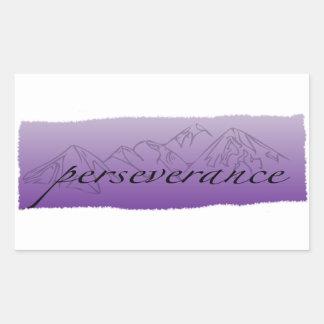 Autocollant de persévérance