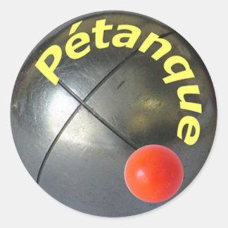 Autocollant de Petanque