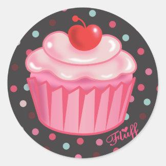Autocollant de petit gâteau de Fluffcakes par le