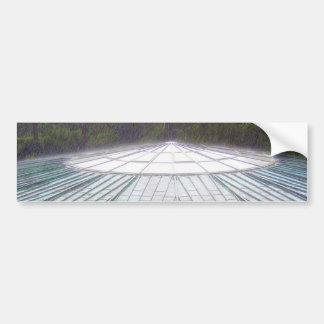 Autocollant de planche à roulettes de soucoupe vol autocollant de voiture
