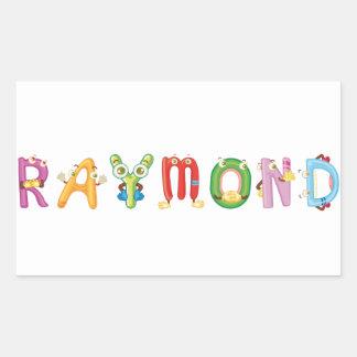 Autocollant de Raymond