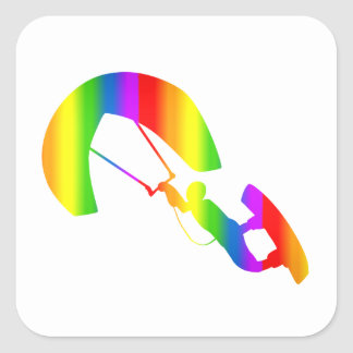 Autocollant de Regenbogen de kitesurf de Bunter