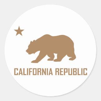 Autocollant de République de la Californie