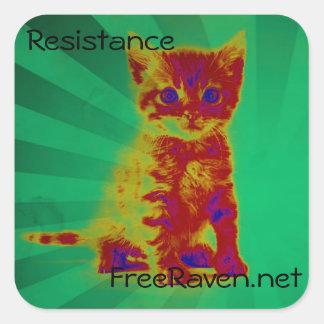 Autocollant de résistance