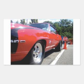 Autocollant de rouge de voiture de mustang