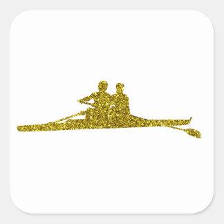 Autocollant de Rudern d'or