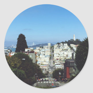 Autocollant de San Francisco la Californie