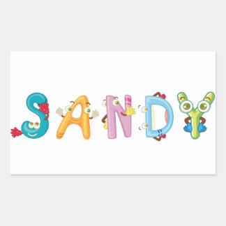 Autocollant de Sandy