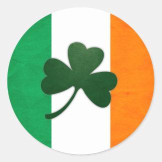 Autocollant de shamrock de l'Irlande