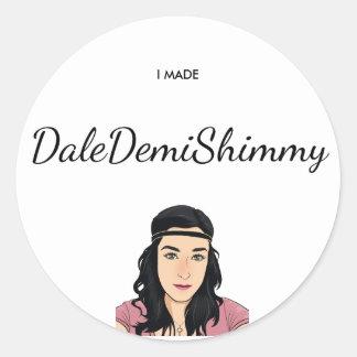Autocollant de shimmy de Dale Demi