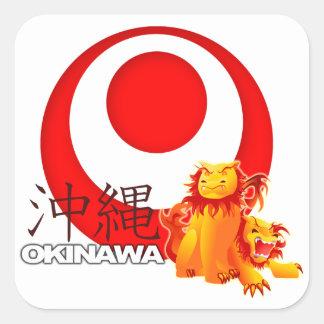 Autocollant de Shisa d'Okinawan