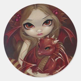 "Autocollant de ""Sienna Dragonling"""