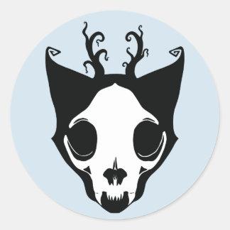 Autocollant de Skullcat