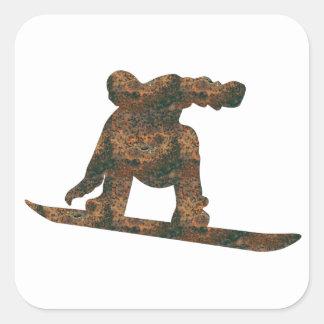 Autocollant de surf des neiges de Rost