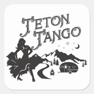 Autocollant de tango de Teton