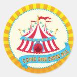 Autocollant de tente de cirque