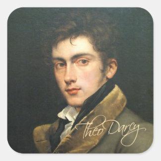 Autocollant de Theo Darcy