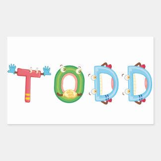 Autocollant de Todd