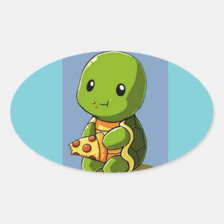 autocollant de tortue d'amusement