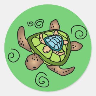 Autocollant de tortue de tour de Turtleback