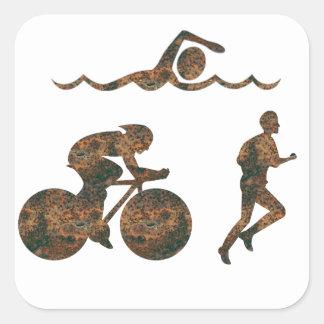 Autocollant de triathlon de Rost