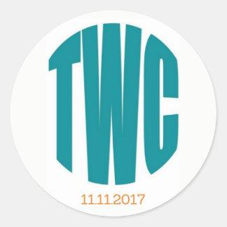 Autocollant de TWC