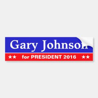 Autocollant de vieille école : Gary Johnson pour