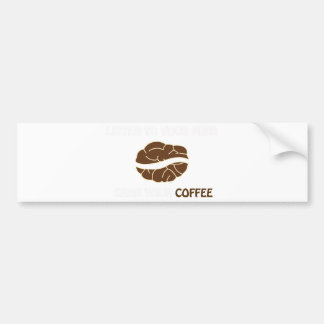 Autocollant De Voiture 01-Grab votre tasse de noir 2 de café