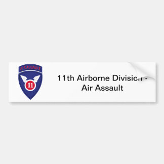 Autocollant De Voiture 11ème Division d'assaut aérien