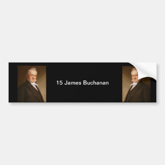 Autocollant De Voiture 15 James Buchanan