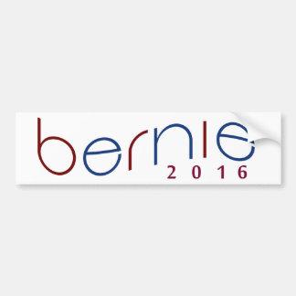 Autocollant De Voiture 2016 ponceuses de Bernie rouges, Bumpersticker