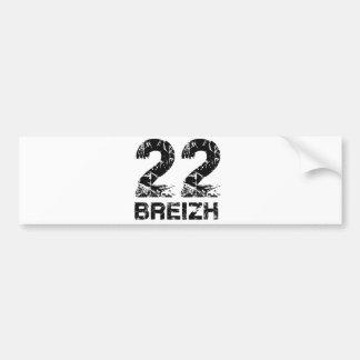 Autocollant De Voiture 22 Breizh