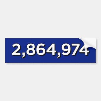 AUTOCOLLANT DE VOITURE 2.864.974